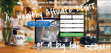 wealthy affiliate legit or scam
