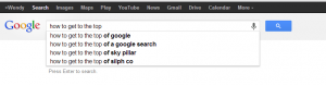 how-to-get-to-the-top-of-google