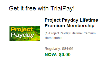 """project payday scam Like in the many other """"makemoneyonline"""" -products, project payday doesn't provide a free trial 7-day trial costs $4,95 which is quite typical for many programs."""