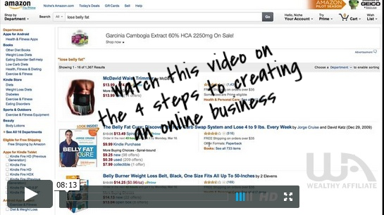 how to create an online business video
