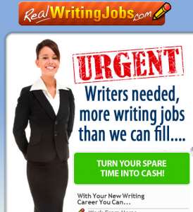 Real Writing Jobs Scam – Stay Away From This Program