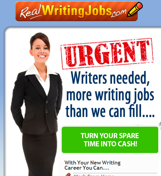 Real writing jobs scam stay away from this program