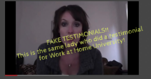 Online Home Careers University Scam – Stay Clear of This One!