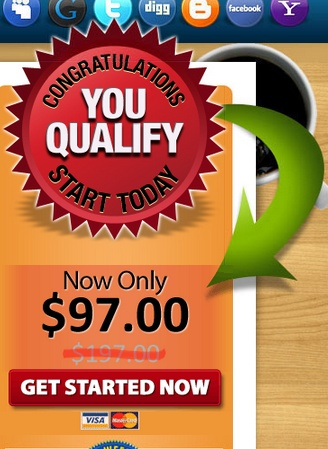 qualified for at home income package