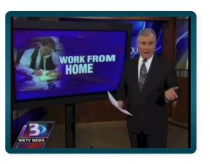 fake careers at home university news clip
