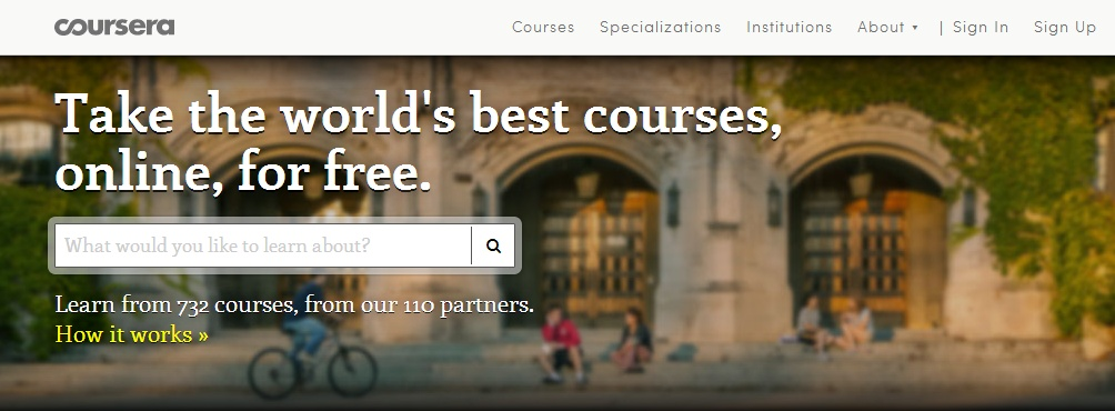 coursera free college classes