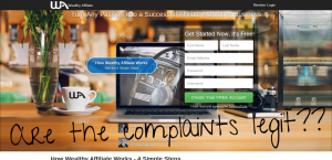 wealthy affiliate complaints legit?