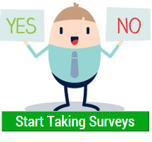 take surveys now