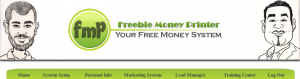 freebie money printer homepage