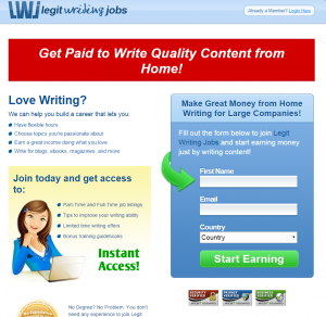 legit freelance writing jobs If you are a talented writer and can arrange english words to generate essays that people will enjoy reading then consider legitimate writing jobs if you need to.