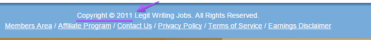 legit writing jobs out of date