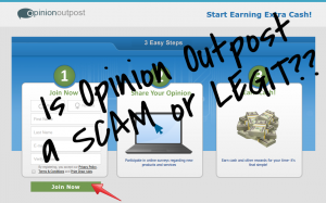 opinion outpost scam or legit