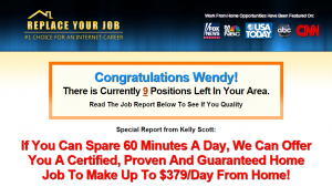 replace your job scam