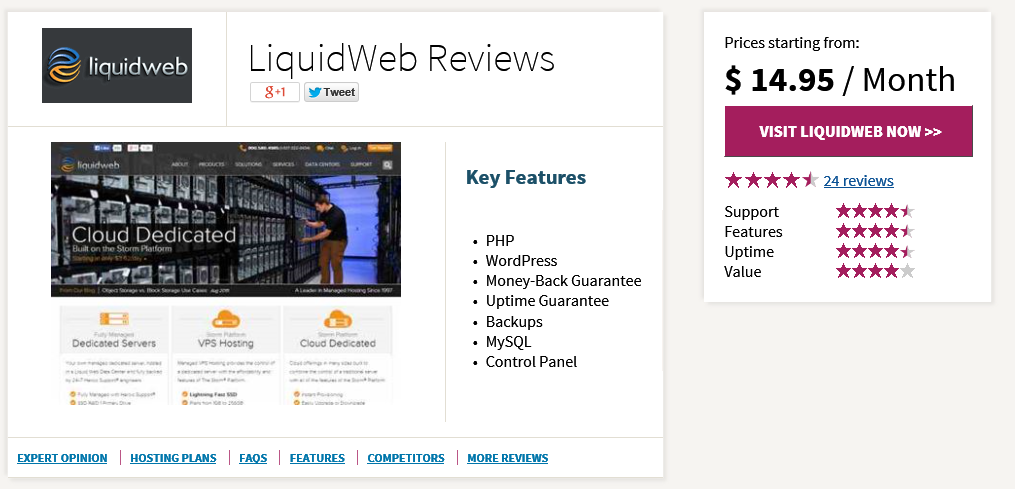 liquid web hosting reviews whoishostingthis