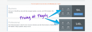pagely pricing managed wordpress hosting
