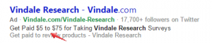 vindale research ad