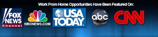 work at home opportunities featured fake
