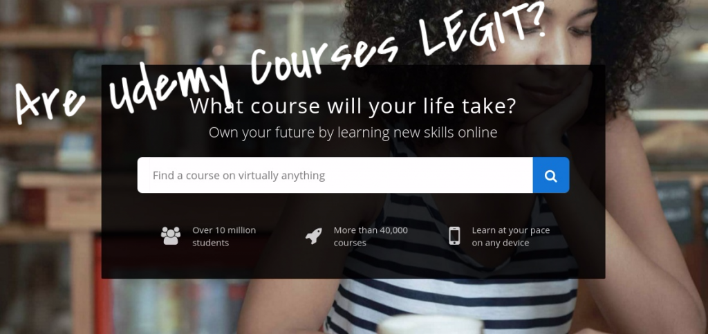 are udemy online courses legit