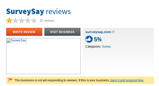 survey say reviews