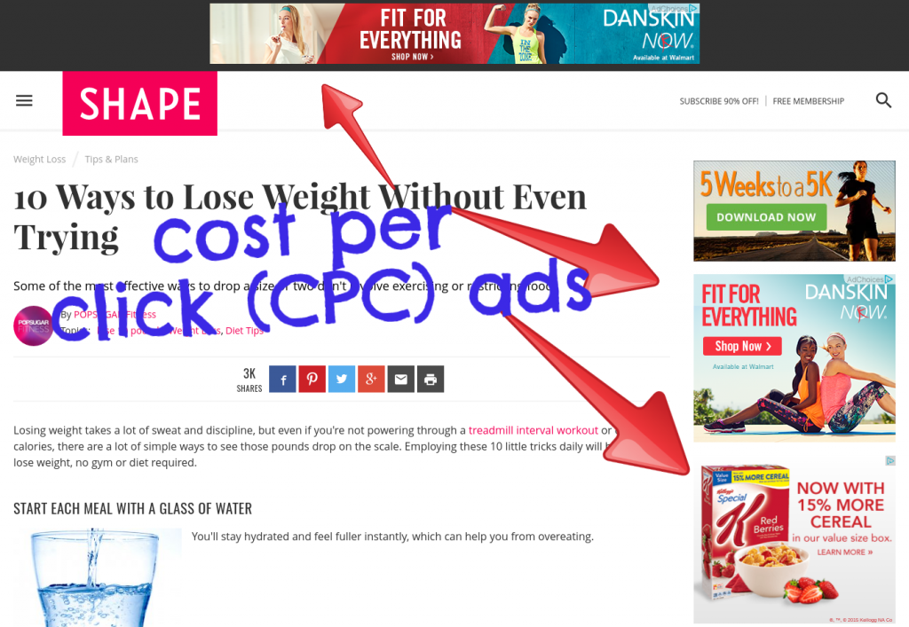 cpc ad examples