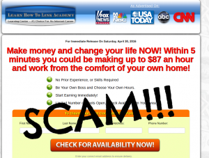 learn how to link academy scam