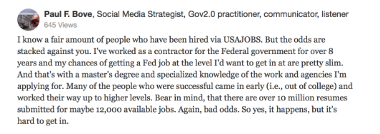 usajobs review quora 2