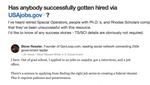 usajobs review quora