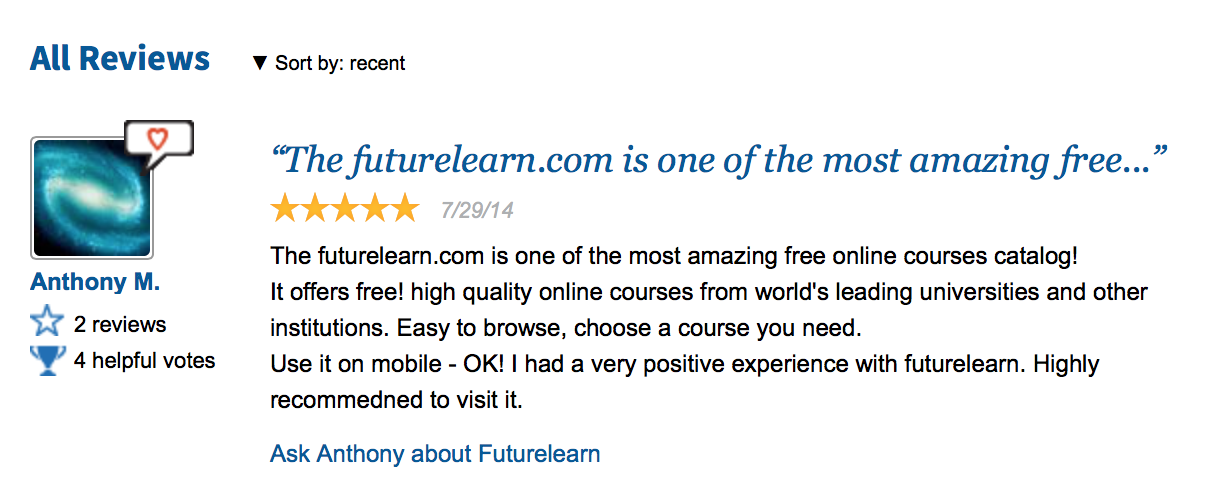 futurelearn review 2