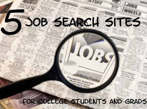 job search sites for college grads