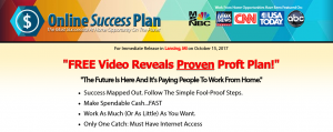 Online Success Plan – Will it Make You Millions?