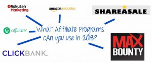 Best Affiliate Marketing Programs for 2018