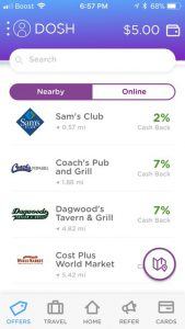 Dosh Review: Is it a Legit Cashback App?