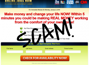 Online Jobs Now – Don't Get Scammed!