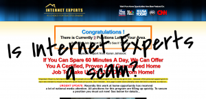 Karen Johnson's Internet Experts – Another Link Scam