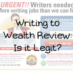 Writing to Wealth Review: Is it a Legit Product?
